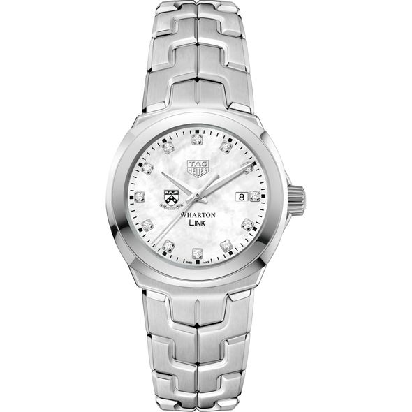 Wharton TAG Heuer Diamond Dial LINK for Women - Image 2