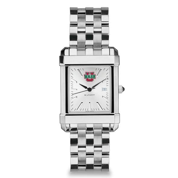 WashU Men's Collegiate Watch w/ Bracelet - Image 2