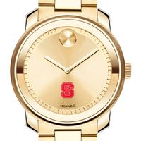 North Carolina State Men's Movado Gold Bold