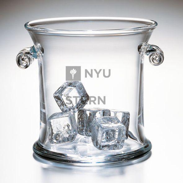 NYU Stern Glass Ice Bucket by Simon Pearce - Image 2