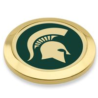 Michigan State University Enamel Blazer Buttons