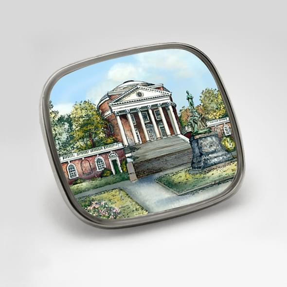 University Of Virginia Eglomise Lapel Pin At M Lahart