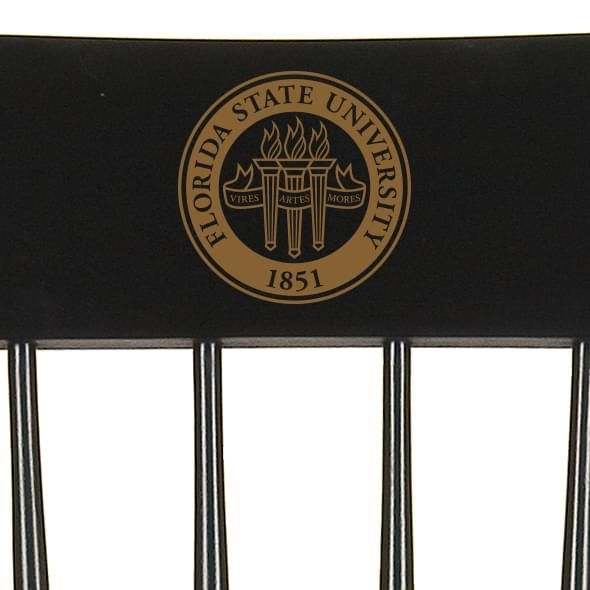 Florida State University Captain's Chair by Hitchcock - Image 2