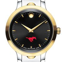 Southern Methodist University Men's Movado Luno Sport Two-Tone