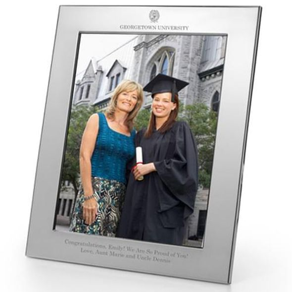 Georgetown Polished Pewter 8x10 Picture Frame