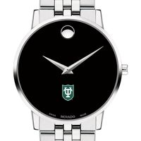 Tulane University Men's Movado Museum with Bracelet