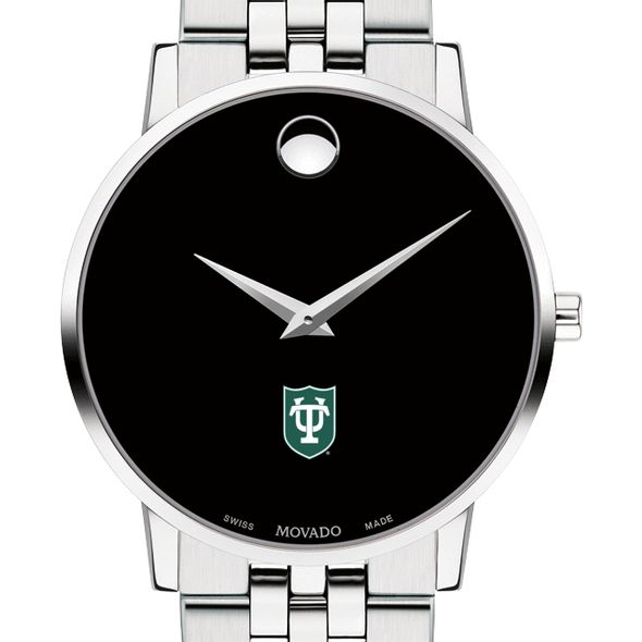 Tulane University Men's Movado Museum with Bracelet - Image 1