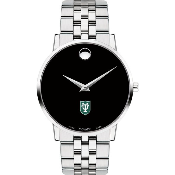 Tulane University Men's Movado Museum with Bracelet - Image 2