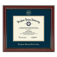 Brigham Young University Diploma Frame, the Fidelitas