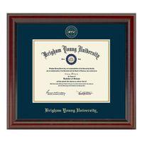Brigham Young University Diploma Frame, the Fidelitas