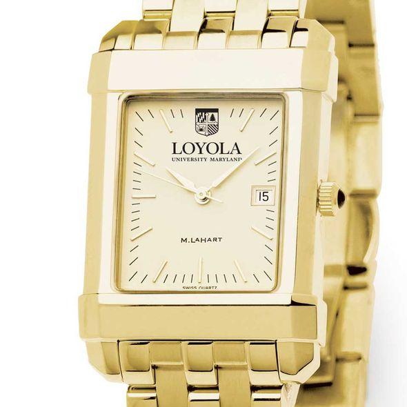 Loyola Men's Gold Quad with Bracelet - Image 1