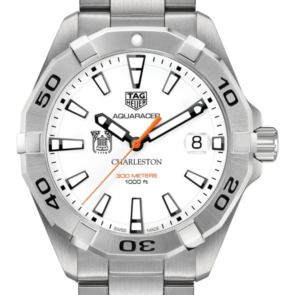 College of Charleston Men's TAG Heuer Steel Aquaracer