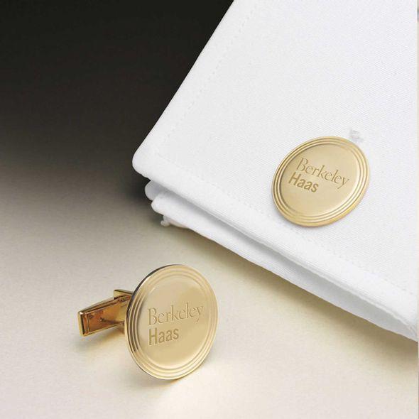Berkeley Haas 18K Gold Cufflinks - Image 1