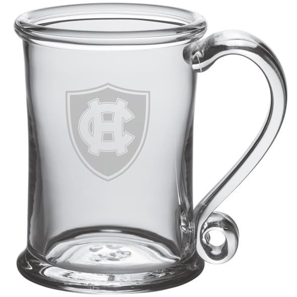 Holy Cross Glass Tankard by Simon Pearce