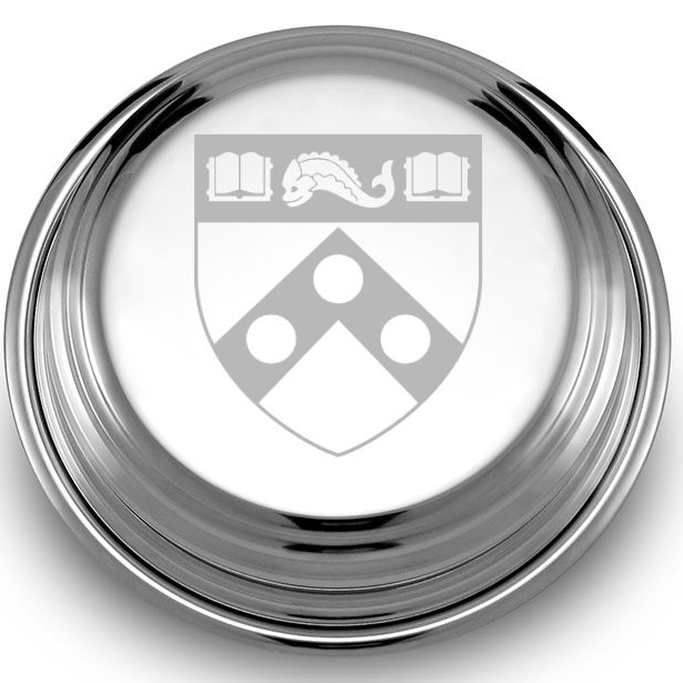 Penn Pewter Paperweight - Image 2