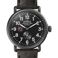 South Carolina Shinola Watch, The Runwell 41mm Black Dial