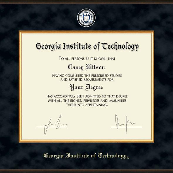 Georgia Tech Excelsior Diploma Frame - Image 2