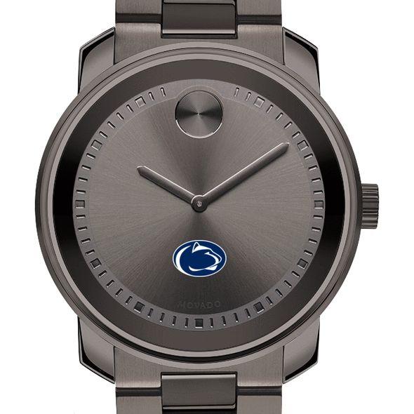 Penn State University Men's Movado BOLD Gunmetal Grey