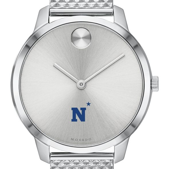 US Naval Academy Women's Movado Stainless Bold 35