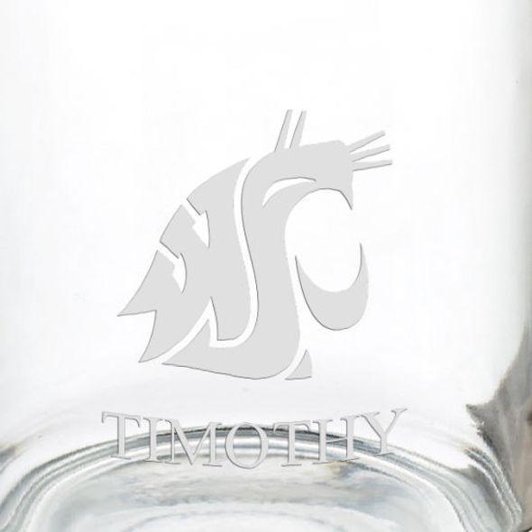 Washington State University 13 oz Glass Coffee Mug - Image 3