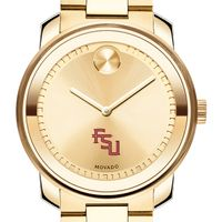 Florida State University Men's Movado Gold Bold