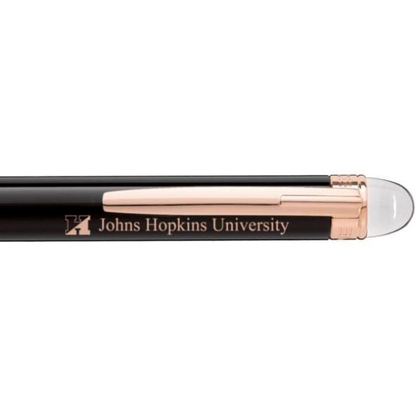 Johns Hopkins University Montblanc StarWalker Ballpoint Pen in Red Gold - Image 2