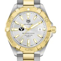 Brigham Young University Men's TAG Heuer Two-Tone Aquaracer