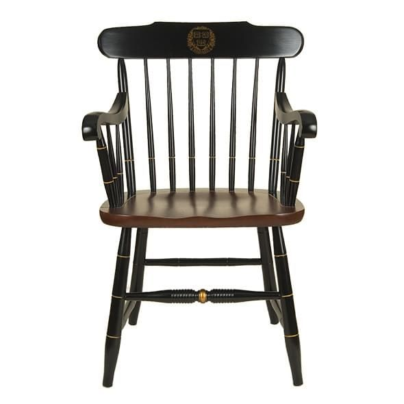 Harvard University Captain's Chair by Hitchcock