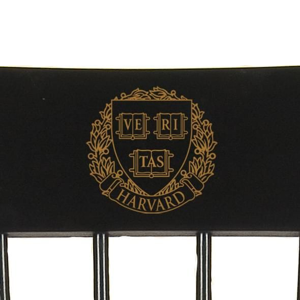 Harvard University Captain's Chair by Hitchcock - Image 2