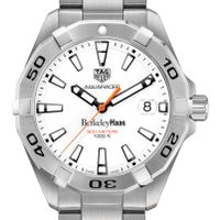 Berkeley Haas Men's TAG Heuer Steel Aquaracer