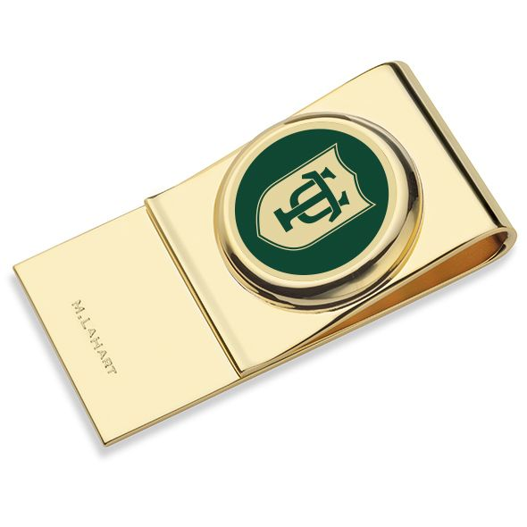 Tulane University Enamel Money Clip