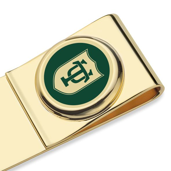 Tulane University Enamel Money Clip - Image 2