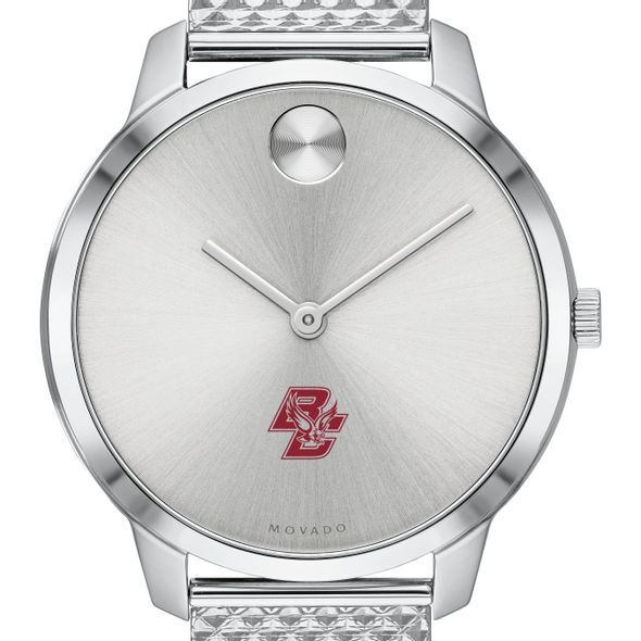 Boston College Women's Movado Stainless Bold 35