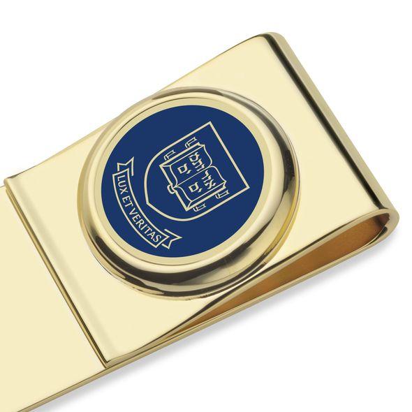 Yale University Enamel Money Clip - Image 2