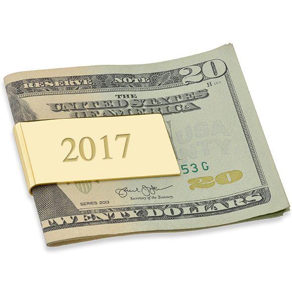 Yale University Enamel Money Clip - Image 3