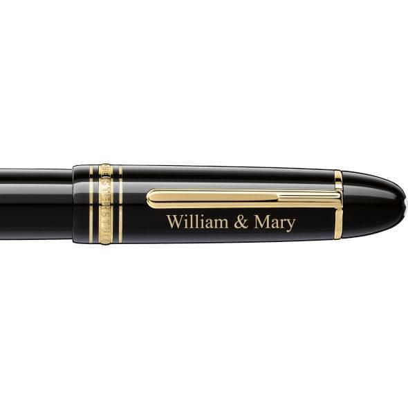 William & Mary Montblanc Meisterstück 149 Pen in Gold - Image 2