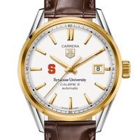Syracuse University Men's TAG Heuer Two-Tone Carrera with Strap
