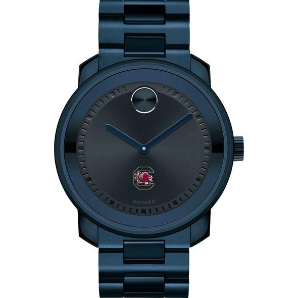 University of South Carolina Men's Movado BOLD Blue Ion with Bracelet - Image 2