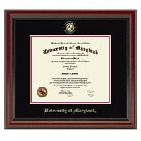 University of Maryland Diploma Frame, the Fidelitas
