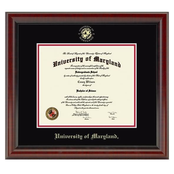 University of Maryland Diploma Frame, the Fidelitas