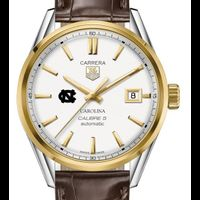 UNC Men's TAG Heuer Two-Tone Carrera with Strap