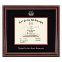 North Carolina State Diploma Frame, the Fidelitas
