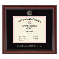 North Carolina State Diploma Frame, the Fidelitas