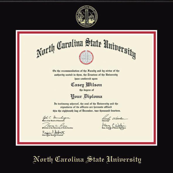 North Carolina State Diploma Frame, the Fidelitas - Image 2
