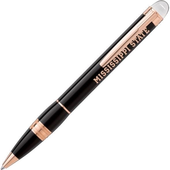 Mississippi State Montblanc StarWalker Ballpoint Pen in Red Gold - Image 1