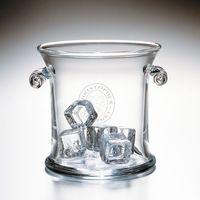 Christopher Newport University Glass Ice Bucket by Simon Pearce