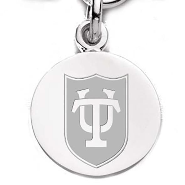 Tulane Sterling Silver Charm