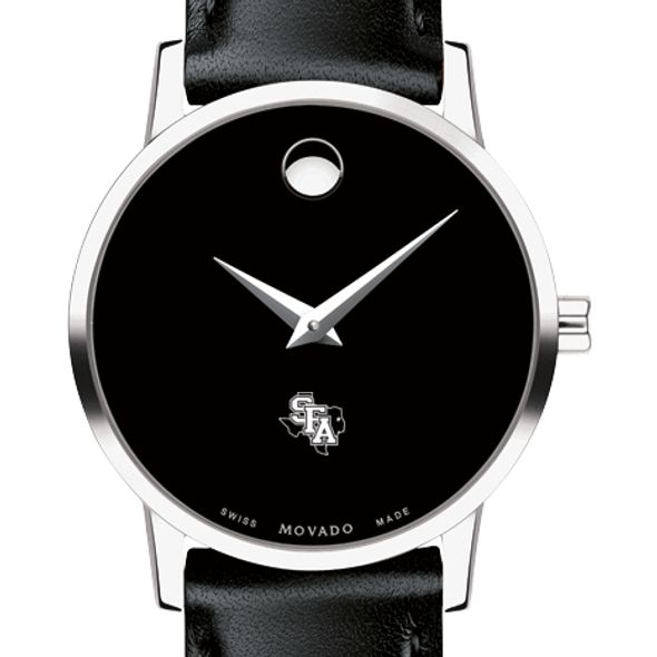 SFASU Women's Movado Museum with Leather Strap