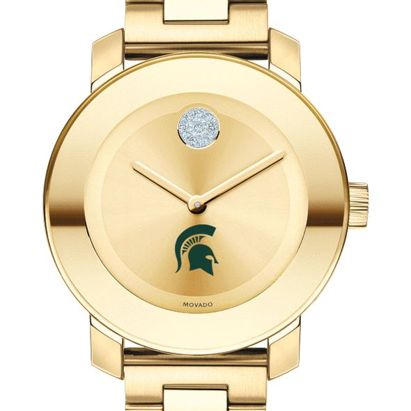Michigan State University Women's Movado Gold Bold - Image 1