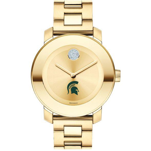 Michigan State University Women's Movado Gold Bold - Image 2